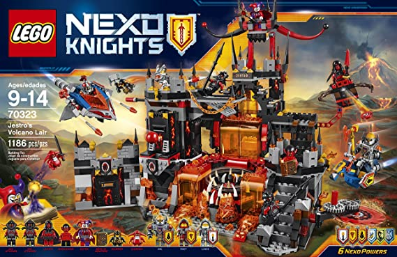 Lego instruction manual NEXO Knights fortress 70323