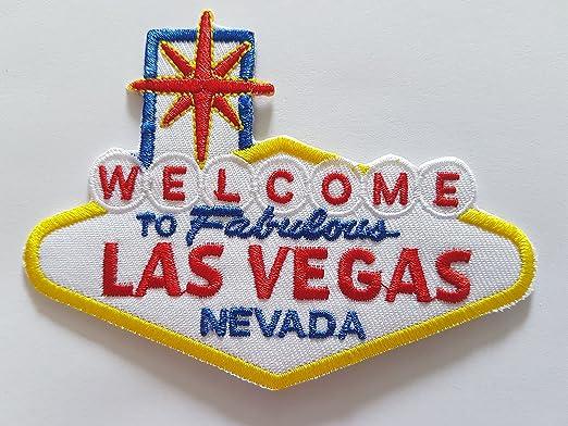 Las Vegas famoso cartel de bienvenida a Las Vegas de hierro ...
