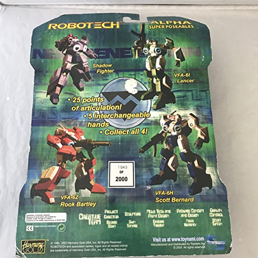 Robotech ToyFare Exclusive Stealth Shadow Fighter Action ...