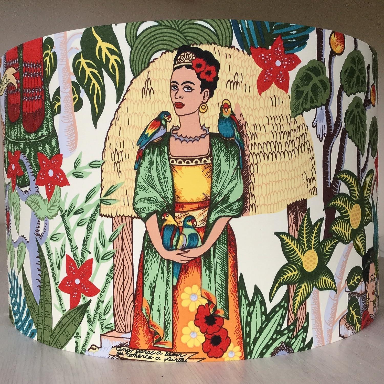 Handmade Lampshade Frida Kahlo Frida's Garden | 30cm | Table Floor Ceiling light-shades | Living Room, Dining Room, Bedroom Kids Room Decor