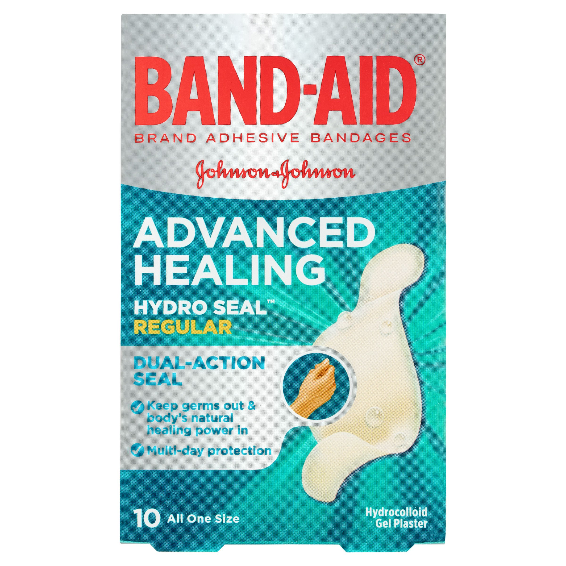 Band-aid Brand Adhesive Bandages Activ-Flex Regular, 10 Count Box