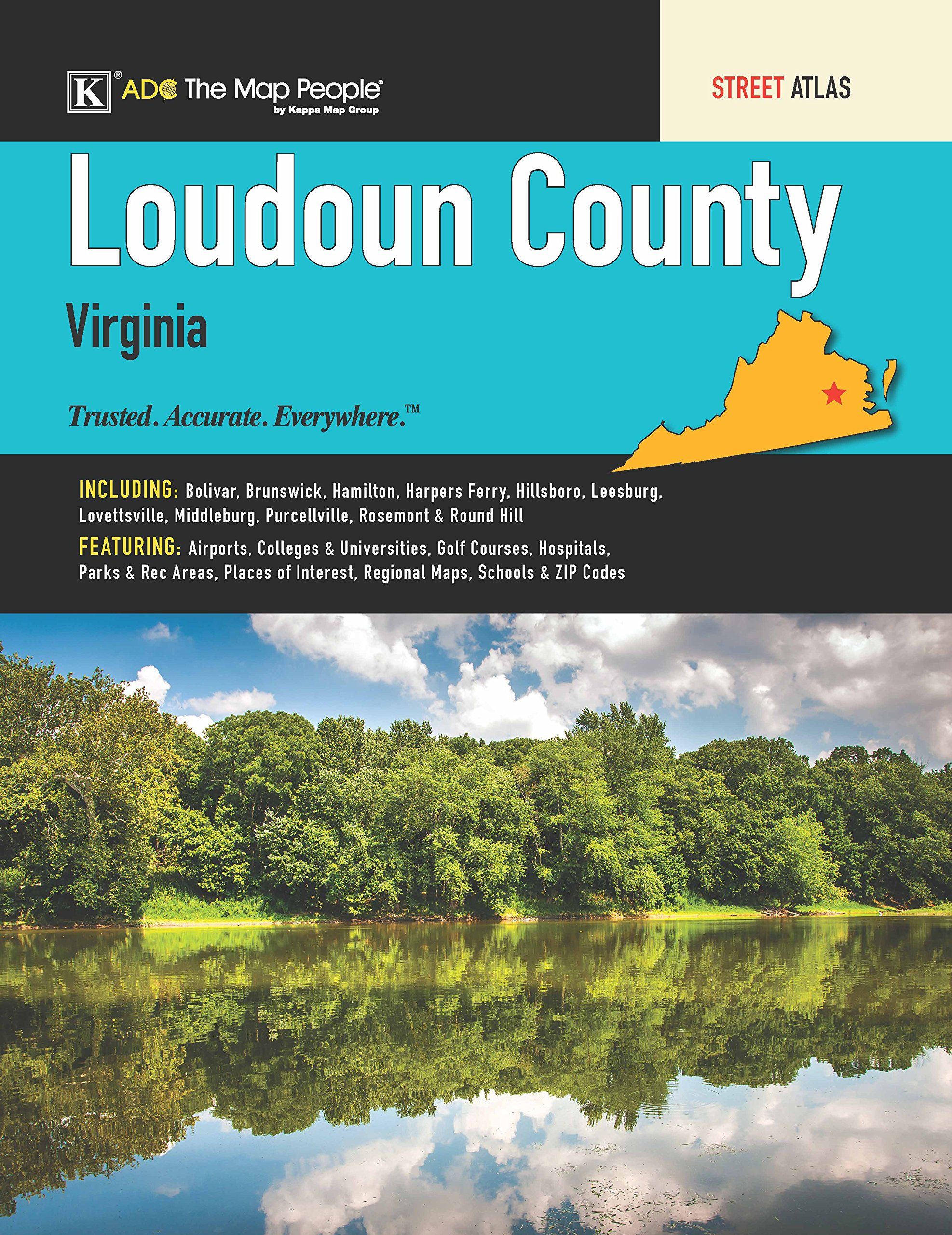 Read Online Loudoun County, VA Street Atlas ebook
