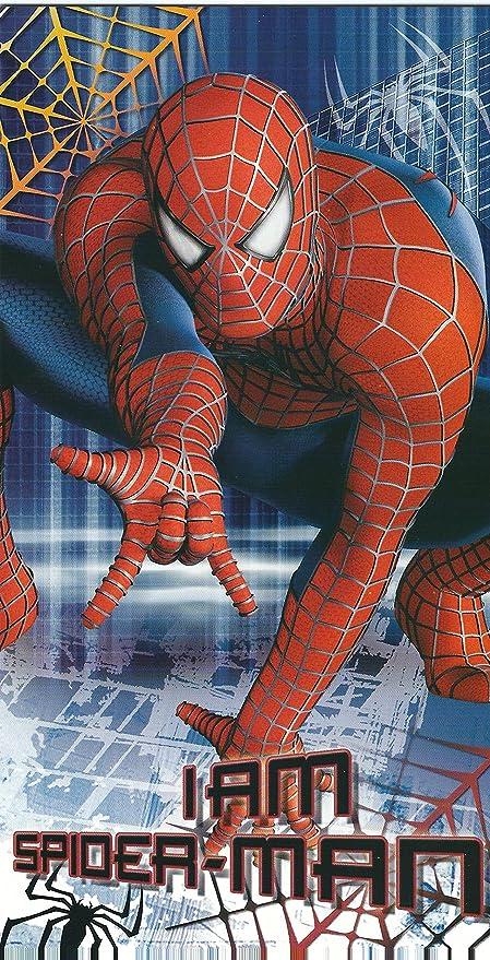 Spiderman Tarjeta de cumpleaños: Amazon.es: Oficina y papelería