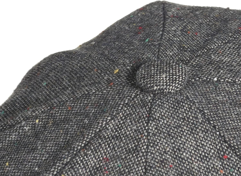 Gorra tipo Ascot de lana al 100/% marca Peaky Blinders