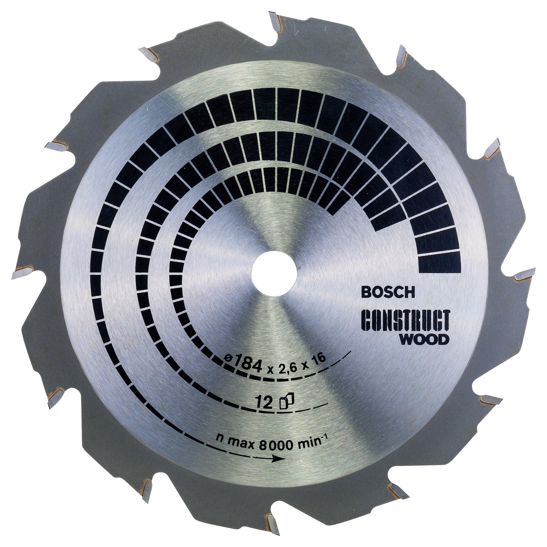 Disco Sierra BOSCH 2608641200 Precisión superior Cwwoh 7.2