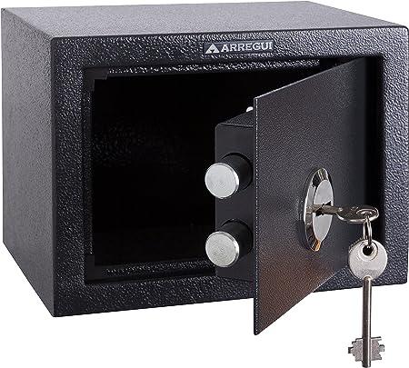 Arregui T17K Caja Fuerte de sobreponer sólo Llave.230x170x170mm, Gris Oscuro, 230 x 170 x 170 mm: Amazon.es: Bricolaje y herramientas