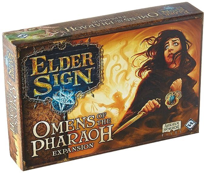 Amazon.com: Elder Sign: presagios de la expansión del Faraón ...