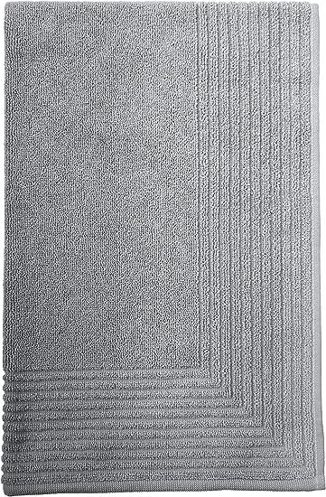 Ceniza 5080 Alfombra de ba/ño de algod/ón SANTENS Palix
