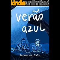 verão azul (Portuguese Edition) book cover