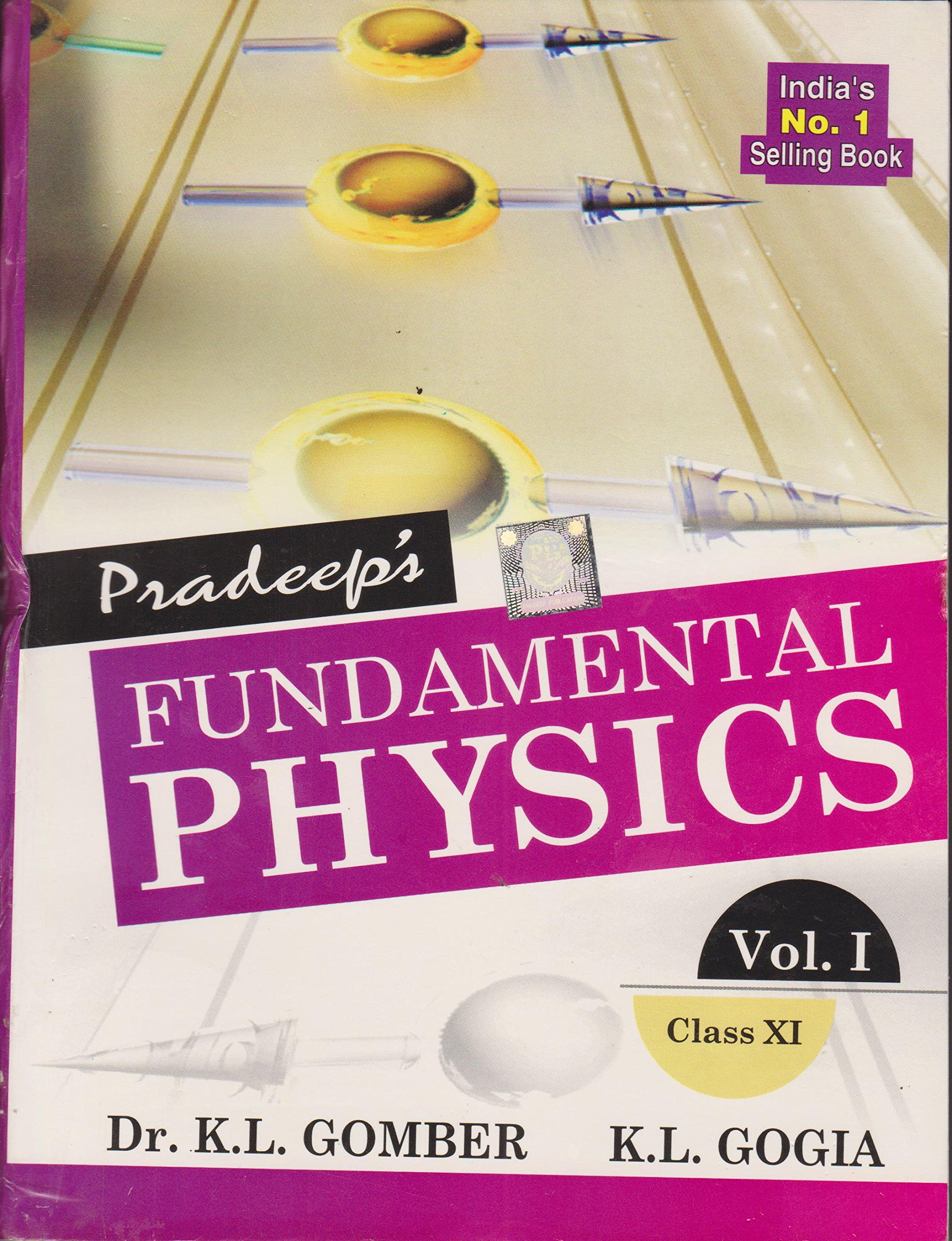 Pradeep Book Of Physics For Class 11