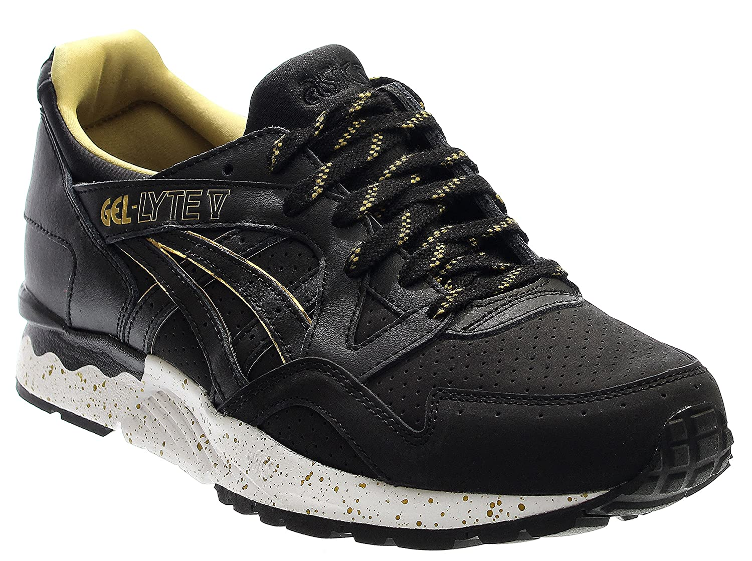 new concept 7adf4 77286 Amazon.com | ASICS Tiger Unisex Gel-Lyte¿ V Black/Black ...