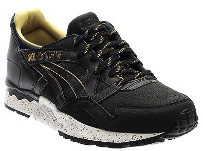 san francisco efceb 5e6f2 ASICS Gel Lyte V Mens (Gold Rush Pack) in Black Black, 12