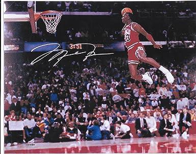 Amazon Michael Jordan Slam Dunk 8 X 10 Reprint Photo Chicago Bulls