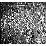 California State Cali Born Bear Outline Vinyl Decal Sticker CUSTOM by Luke Duke Decals
