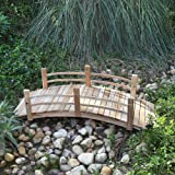 Shine Company Inc. 4981N Cedar Garden Bridge, 5 Ft, Natural
