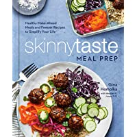 Image for Skinnytaste Meal Prep: Healthy Make-Ahead Meals and Freezer Recipes to Simplify Your Life: A Cookbook