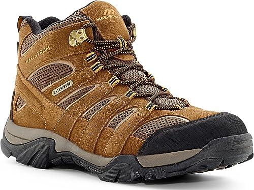 Brown Waterproof Hiking Boot