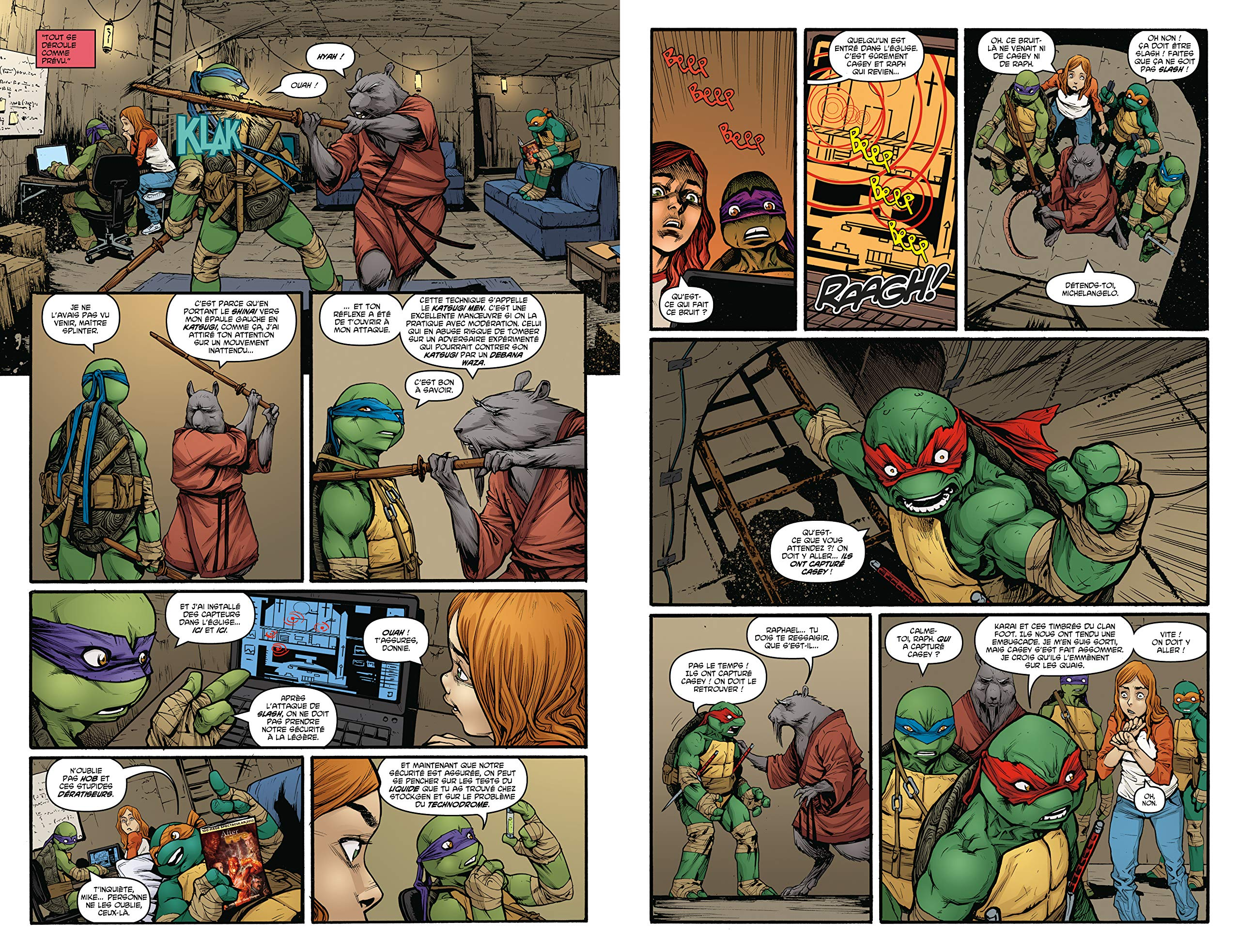 Teenage Mutant Ninja Turtles - Les tortues ninja, Tome 2 ...