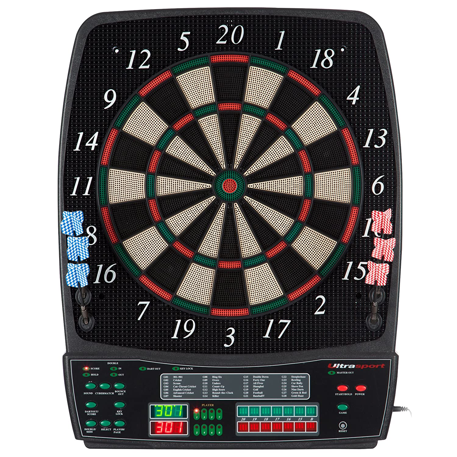 Ultrasport elektronisches Dartboard