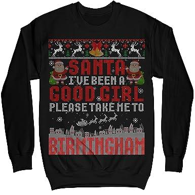 Mik Apparel Santa Ive Been A Good Girl Please Take Me To Birmingham