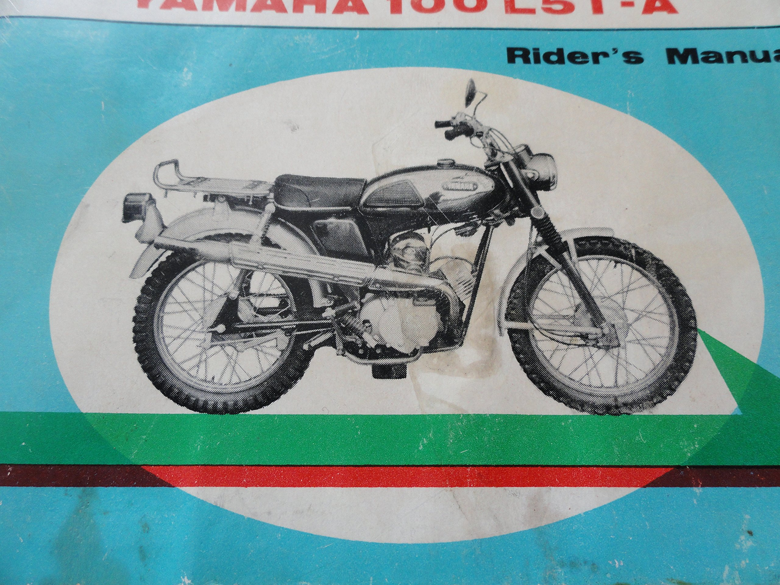 Yamaha 100 L5T-A Vintage Motorcycle Owners Manual: Yamaha ... on