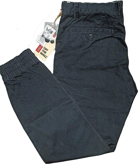 2251b2a60b Excerpt Navy Blue Pegged Cuffed Slim Fit Skateboard Chino Pant V6CNVY 30