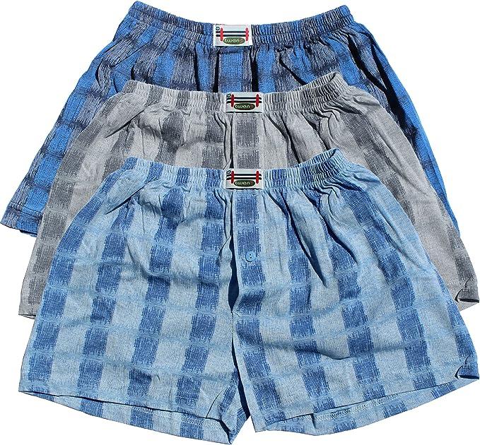 3-Pack Hombres Boxer Shorts (pantalones cortos, calzoncillos) 3 Pack Nr. 77 (el color puede variar) (multicolor / (L)): Amazon.es: Ropa y accesorios