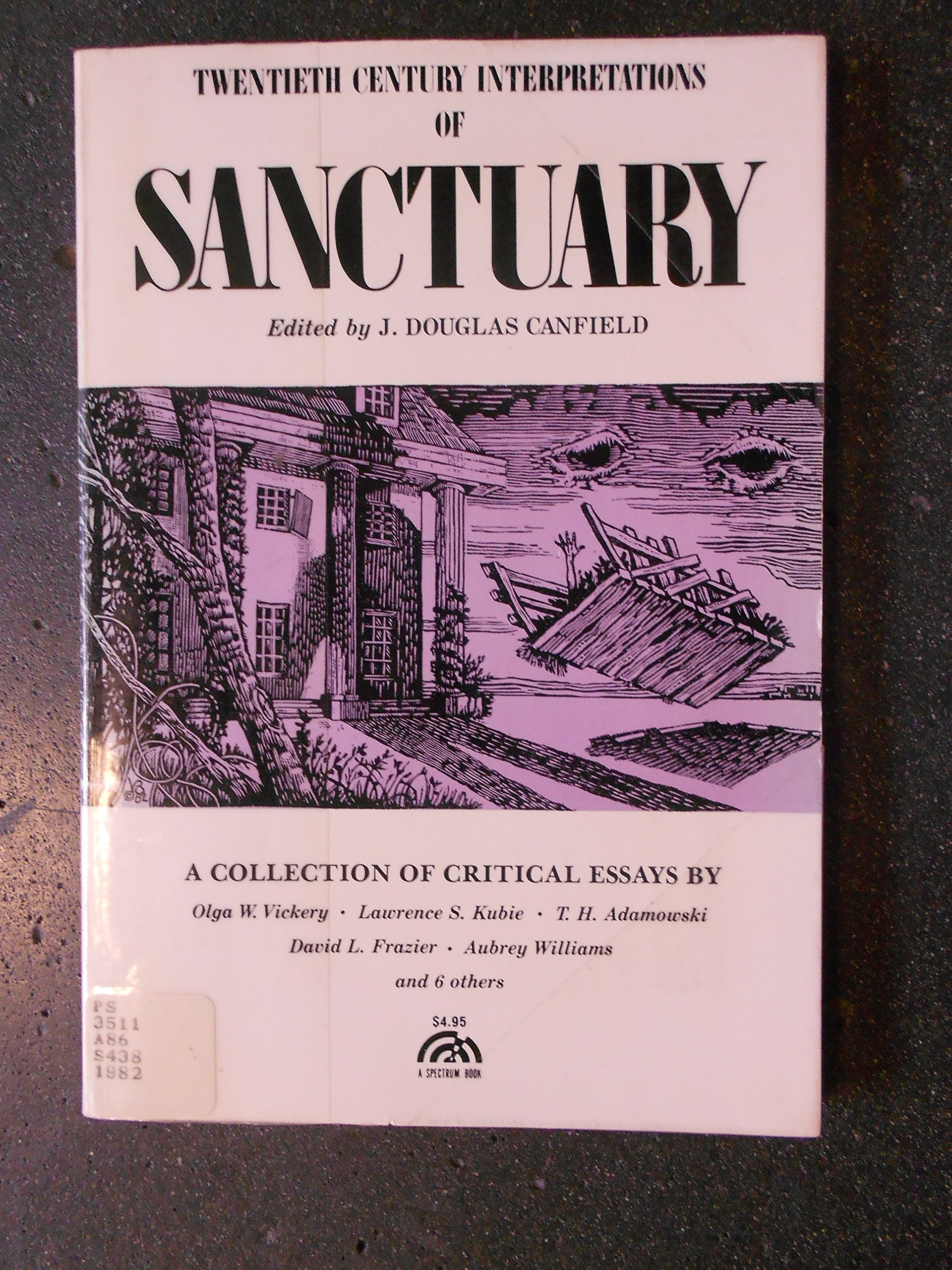 William Faulkner's Sanctuary: A Collection of Critical Essays (20th Century  Interpretations): Amazon.co.uk: Douglas J. Canfield: 9780137912100: Books
