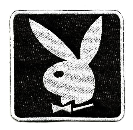 Parche bordado del conejito de Playboy, de alta calidad para planchar o coser en ropa