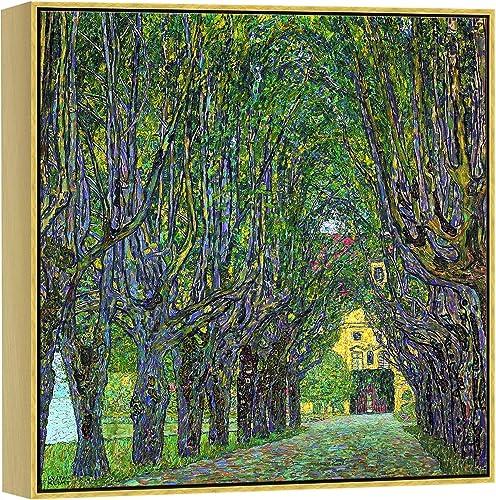 Wieco Art Framed Canvas Wall Art Avenue