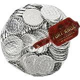 Silver Milk Chocolate Coins, 1 lb. bag, 91 coins