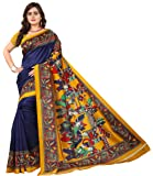 Jaanvi fashion Women's Silk with Blouse Piece Saree