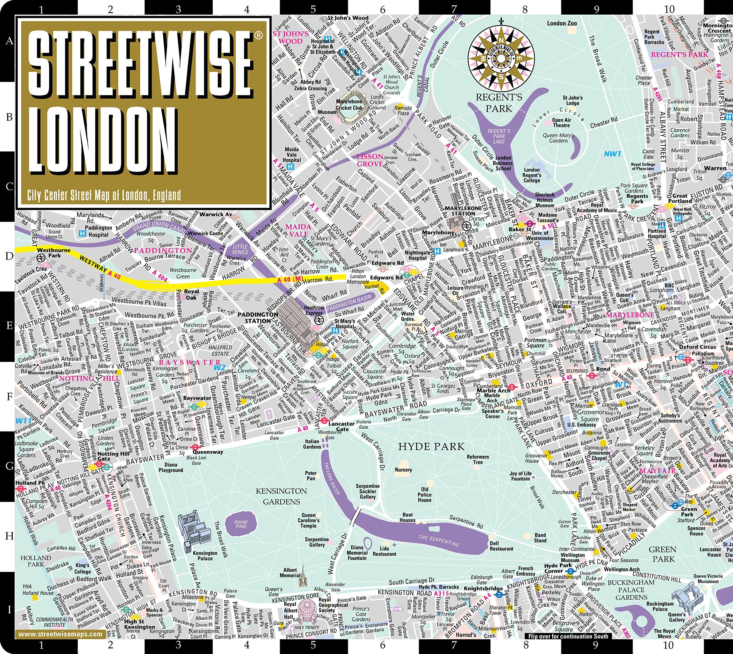 streetwise london map laminated city center street map of london england streetwise maps 9780935039276 amazoncom books