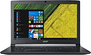 "Acer Aspire 5, 17.3"" Full HD, 8th Gen Intel Core i7-8550U, GeForce MX150, 12GB DDR4 Memory, 256GB SSD, 1TB HDD, A517-51G-8433"