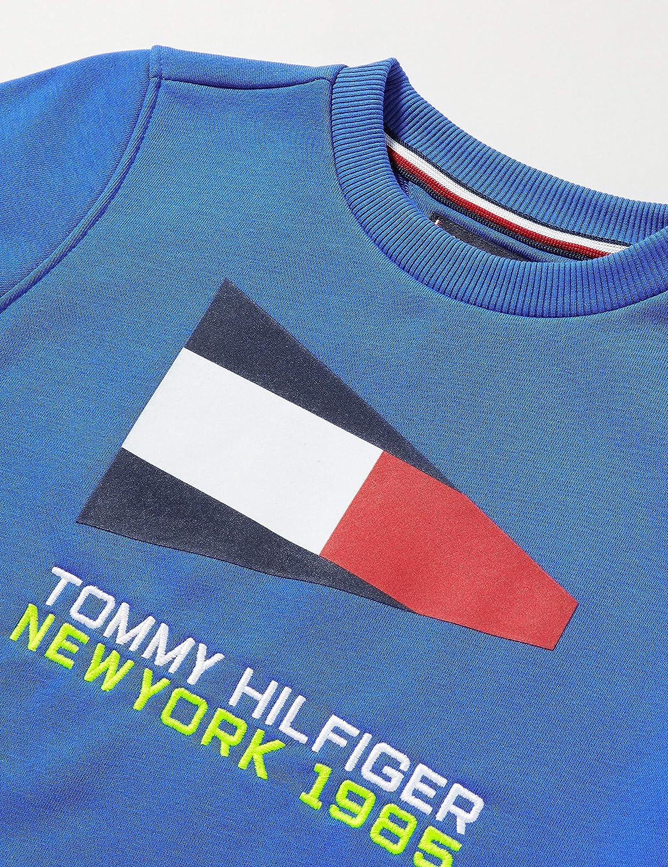 Tommy Hilfiger Jungen Sailing Flag Graphic Sweatshirt