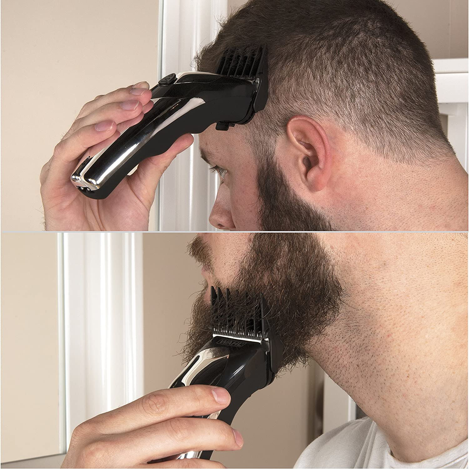 Wahl Haircut And Beard Trimmer Kit: Amazon.in: Beauty