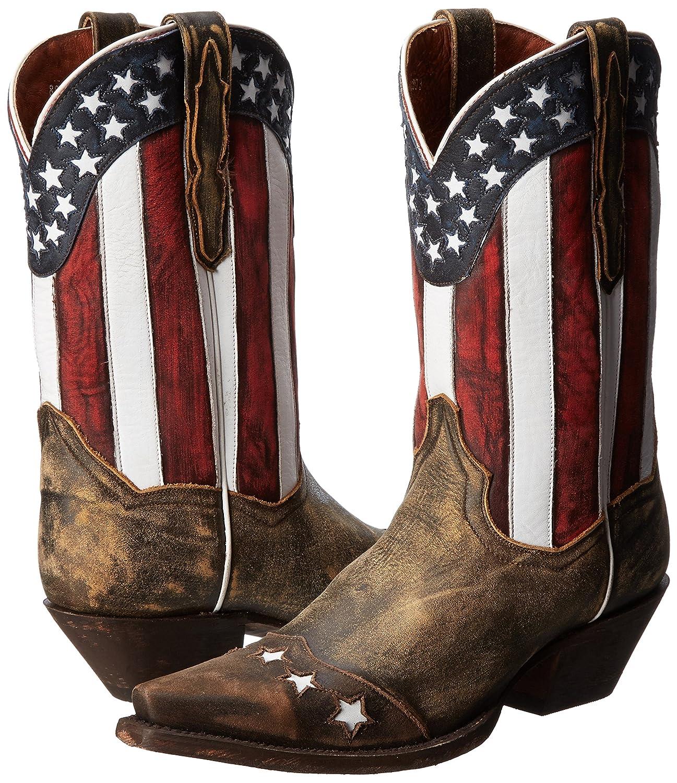 Dan Post Women's Liberty Western US|Tan Boot B00HREWF2S 7.5 B(M) US|Tan Western a0f2ad