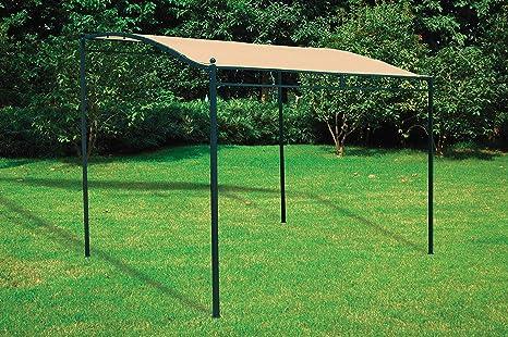 Homegarden veranda in acciaio da giardino gazebo: amazon.it: casa e