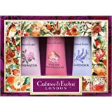 Crabtree & Evelyn Floral Hand Therapy Sampler Gift Set 25 g - Pack of 3