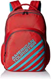 American Tourister 21 Lts Ebony Red Casual Backpack (Ebony Backpack 01_8901836132700)