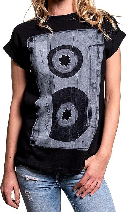 Camiseta Rockera Vintage Música