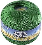 DMC Petra Yarn Size 5, 100% Cotton, Green, 9x9x8 cm