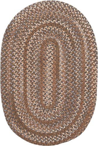 Oak Harbour Rug, 2 by 3-Feet, Cashew