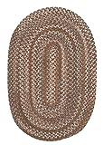 Oak Harbour Rug, 4 by 6-Feet, Cashew