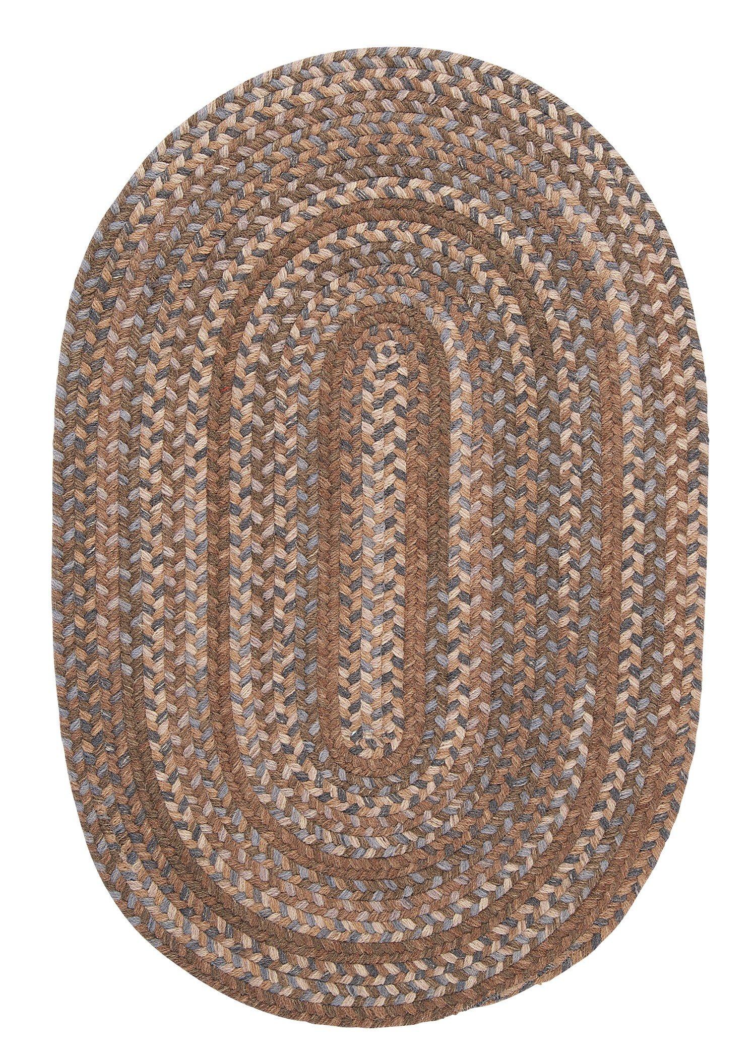 Oak Harbour Rug, 2 by 8-Feet, Cashew