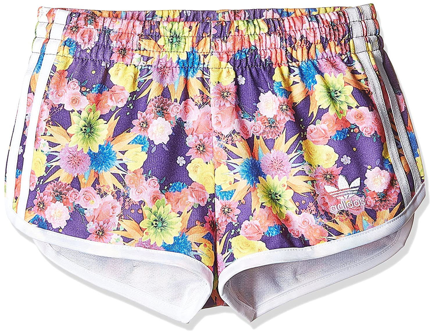adidas Originals Girls Junior Garden Trefoil Shorts AJ0072