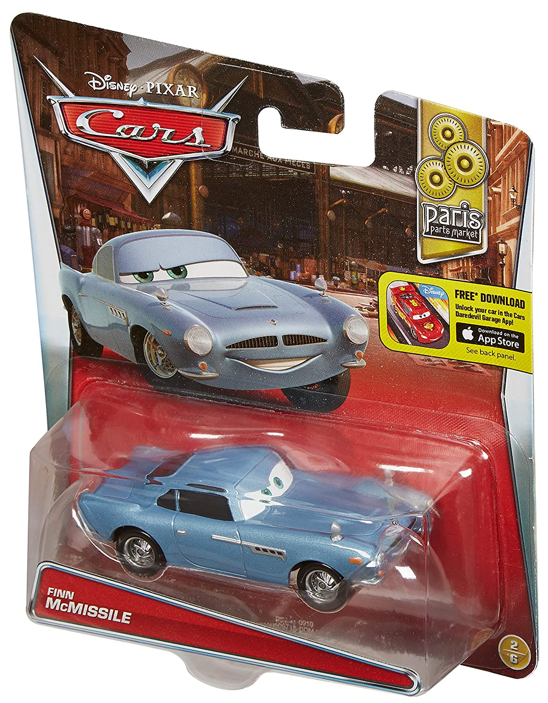Disney//Pixar Cars Diecast Finn Mcmissile Vehicle