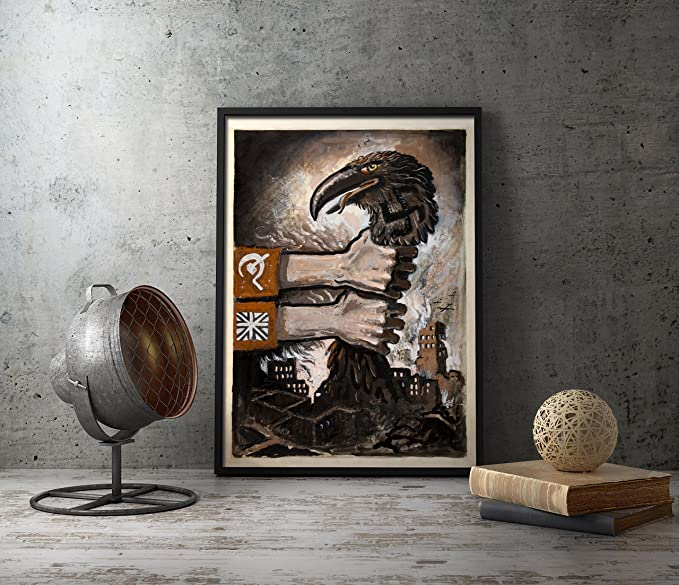 Amazon com: UpCrafts Studio Design Anti Nazi Poster WW2