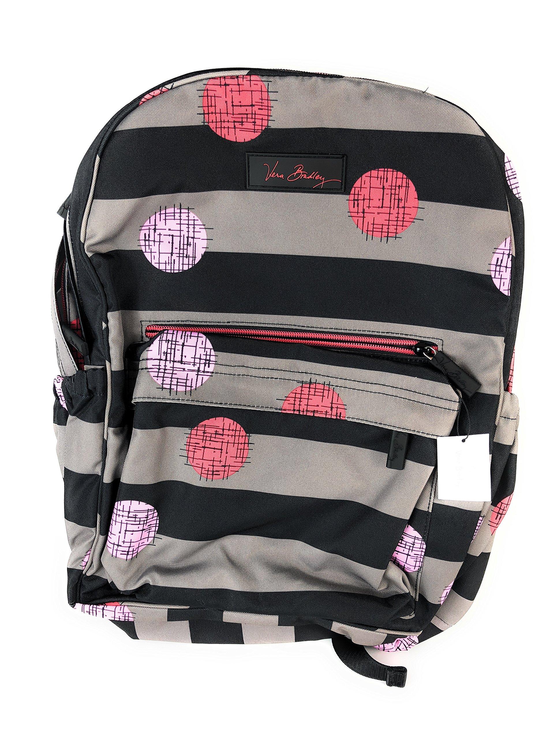 Vera Bradley Women's Lighten Up Grande Laptop Backpack Havana Hot Spots Backpack