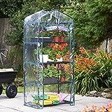 VonHaus 4 Tier Portable Mini Compact Greenhouse